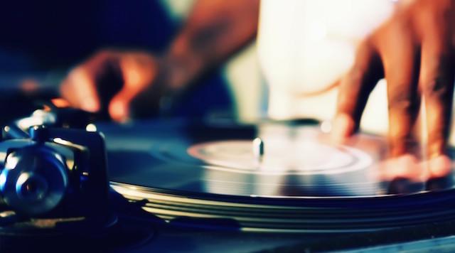 Vinyl DJ's @ Dance Jam